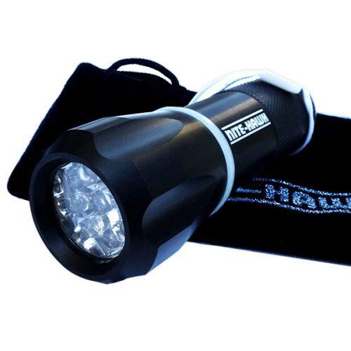 Nite Hawk LED Golfball Finder schwarz