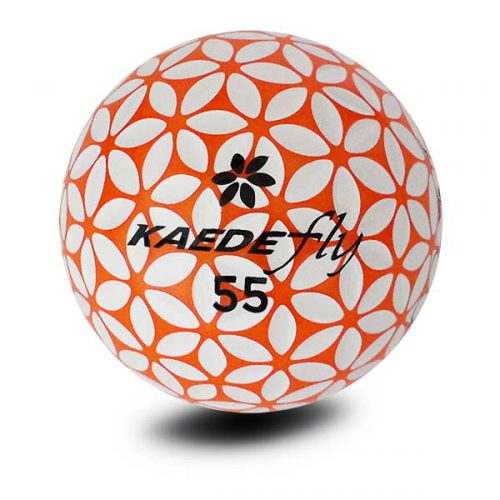 Kaede Fly Soft Distance Golfbälle Farbe Orange Weiß Front