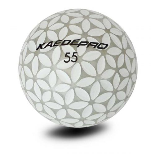 Kaede Pro Soft Distance Golfbälle Farbe Silber Weiß Front
