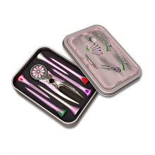 Fancytees M24 LADY Set Golf Pitchgabel + Ballmarker Blume