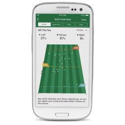 Garmin Approach GPS Golfuhr Ansicht App AutoShot Spielaufzeichnung