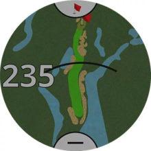 Garmin Approach GPS Golfuhr Ansicht Informationen zum Golfplatz