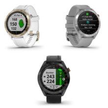 Garmin Approach S40 GPS Golfuhr Varianten Schwarz Grau Weiß