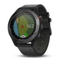 Garmin Approach S60 GPS Golfuhr Premium Schwarz Ansicht Front links