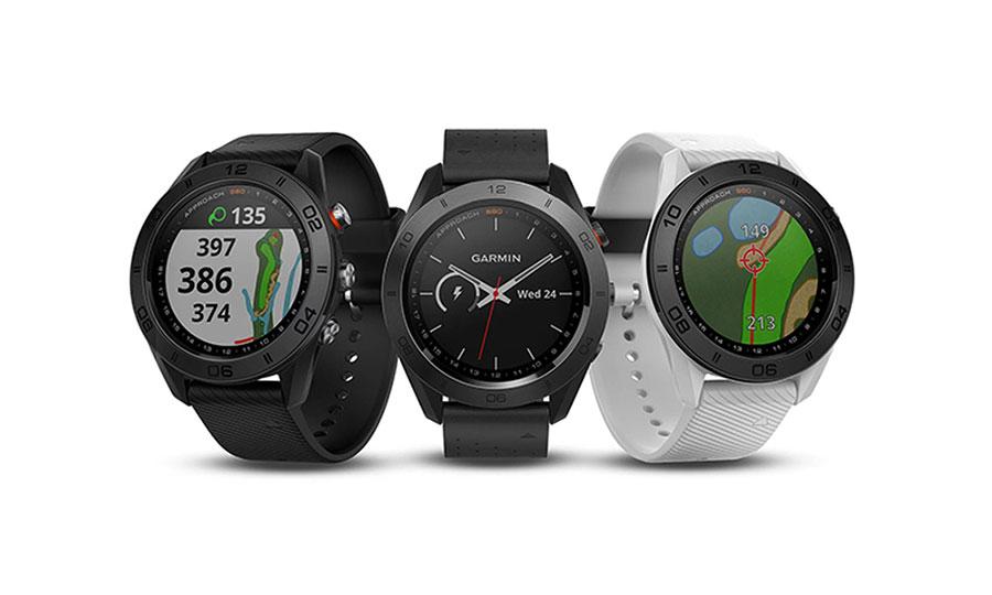 Garmin Approach S60 GPS Golfuhr Varianten Premium Schwarz Weiß breit