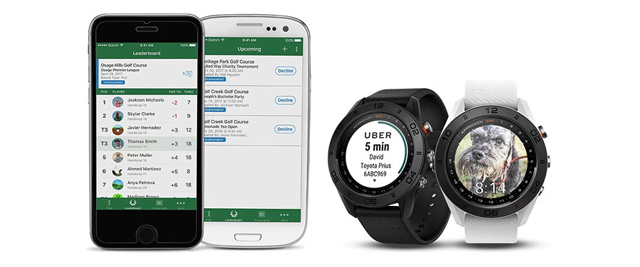 Garmin Approach S60 GPS Golfuhr persönliche Uhr mit Smart Funktionen