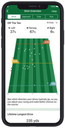 Garmin Schwunganalyse Approach CT10 Kopplung mit Golf App