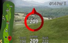 Garmin Approach Z80 GPS Laser Entfernungsmesser Hilfe bei Steigung und Gefälle