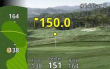 Garmin Approach Z80 GPS Laser Entfernungsmesser Spiel aus einer anderen Perspektive