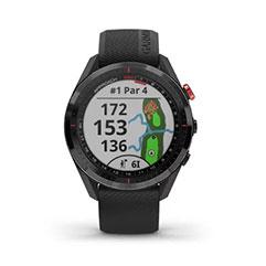 Garmin Approach S62 GPS Golfuhr Ansicht Golfplatz komplett Par 4