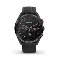 Garmin Approach S62 GPS Golfuhr Ansicht Uhrzeit Analog