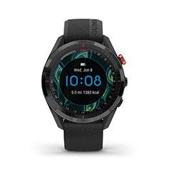 Garmin Approach S62 GPS Golfuhr Ansicht Uhrzeit Digital