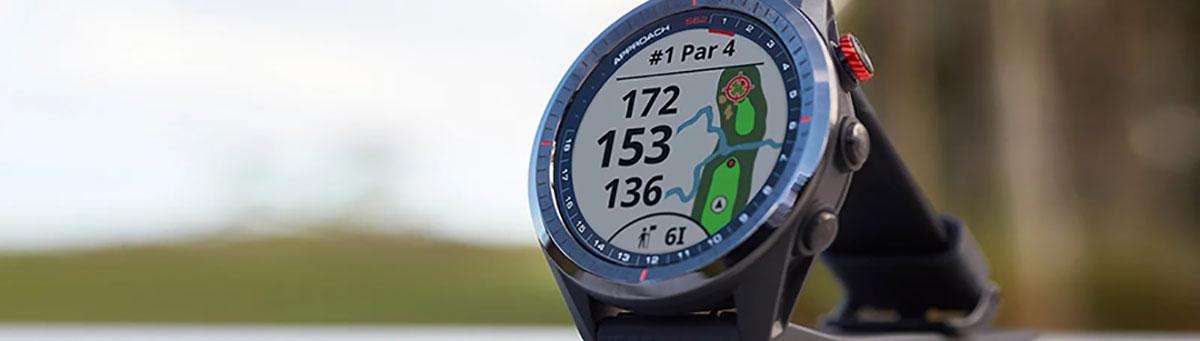 Garmin Approach S62 GPS Golfuhr Brilliante Darstellung