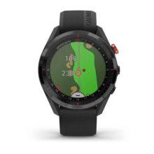 Garmin Approach S62 GPS Golfuhr Schwarz Ansicht Front