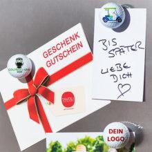 Magballs magnetischer Golfball Ansicht Kühlschrank Dein Logoball Zoom