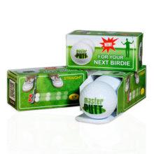 masterPUTT magnetische Golfbälle für optimales Putten - Produktbild