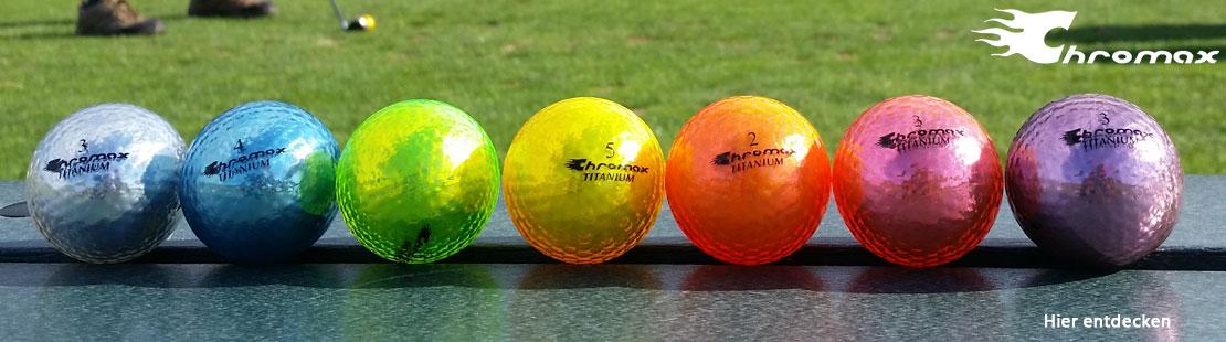 Marke Chromax Golf Banner für Markenseite
