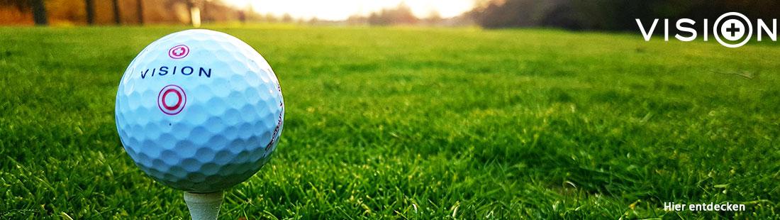 Marke Vision Golf Banner für Markenseite