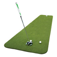 Private Greens Puttingmatte Teaching Pro Kunstrasen Ansicht 4 x 0,9m