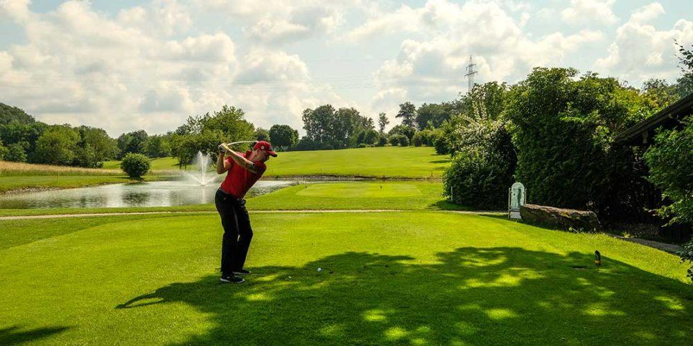Golfanlage Gut Rieden Abschlag