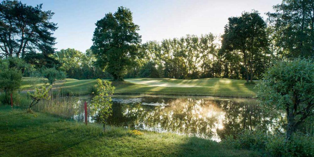 Golfclub München Riem Wasserhindernis