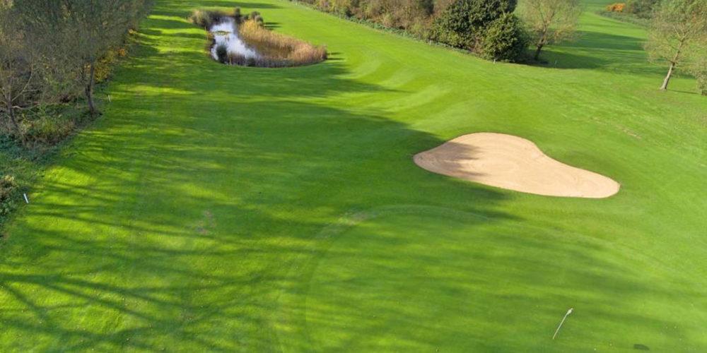 München Golfclub Eschenried Golfplatz Eschenhof Loch 16