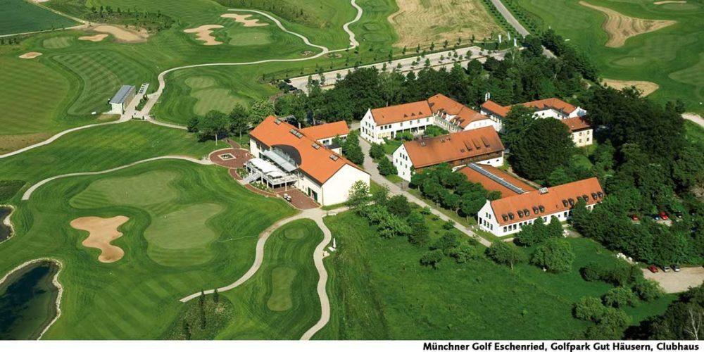 Münchner Golf Eschenried Golfpark Gut Häusern Clubhaus