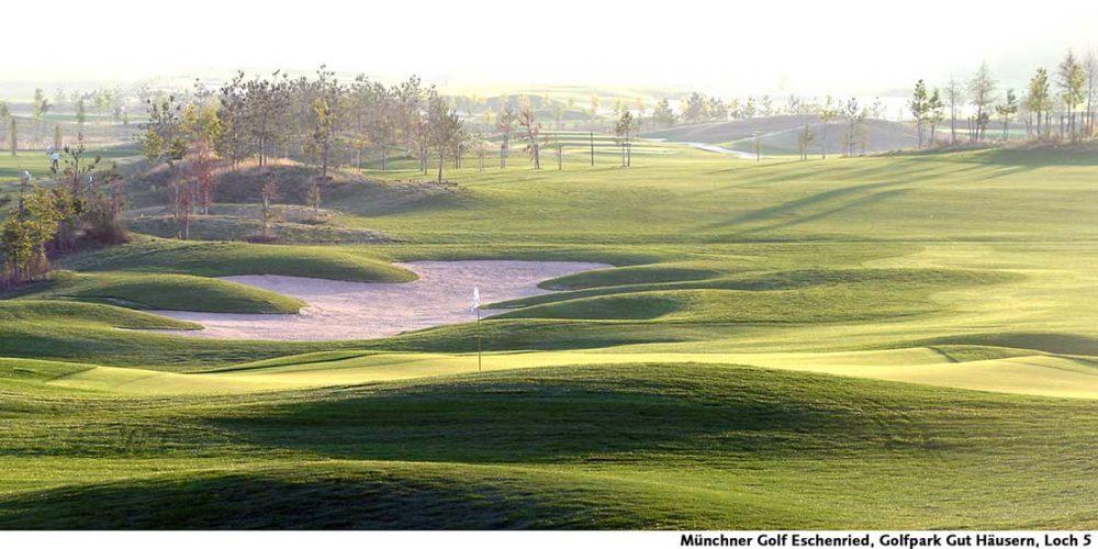 Münchner Golf Eschenried Golfpark Gut Häusern Loch 5