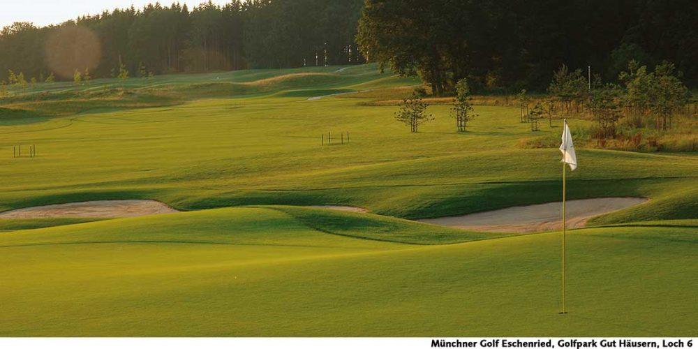 Münchner Golf Eschenried Golfpark Gut Häusern Loch 6