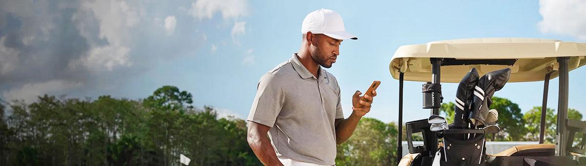 Garmin Approach Z82 GPS Laser Entfernungsmesser die Garmin Golf App