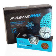 Kaede MAX BLUE Distance Golfbälle Blau Weiß 12er Box