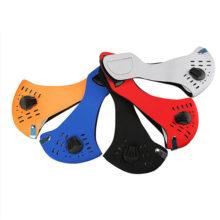 Neopren Mundschutz Maske Sport Atmungsaktiv verschiedene Farben seitlich