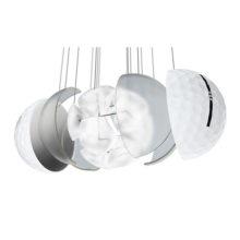 Vice Pro Golfbälle Weiß 3 Piece Konstruktion Cast Urethan Schale
