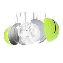 Vice Pro Neon Lime Golfbälle 3 Piece Konstruktion Cast Urethan Schale