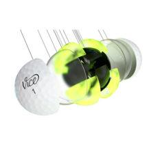 Vice Pro Plus Golfbälle Weiß 4 Piece Konstruktion Cast Urethan Schale