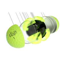 Vice Pro Plus Neon Lime Golfbälle 4 Piece Konstruktion Cast Urethan Schale