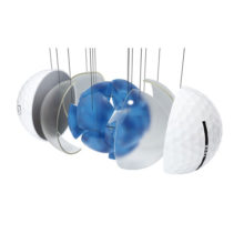 Vice TOUR Golfbälle Weiß 3-Piece-Konstruktion DuPont™ Surlyn®