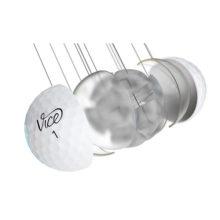 Vice Pro Soft Golfbälle Weiß 3 Piece Konstruktion Cast Urethan Schale
