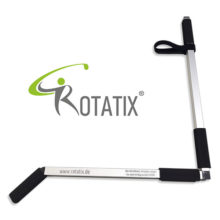 GOSWO Rotatix® Golfschwung Trainingstool Ansicht zusammengesteckt Logo