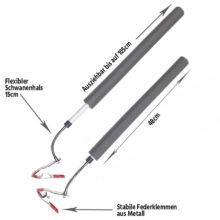 HMC Flex Sticks Kopfbewegungskontrolle beim Golfschwung Produktbild beschriftet