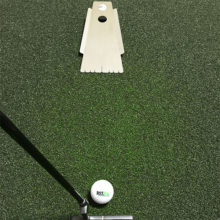 RST OnePuttBasic Putting Trainingshilfe auf Puttingmatte mit Putter