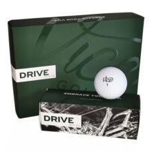 Vice Drive Golfbälle Weiß Ansicht 12er Box