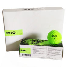 Vice PRO NEON LIME Golfbälle Gelb Ansicht 12er Box