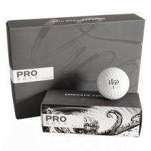 Vice PRO SOFT Golfbälle Weiß 12er Box Ansicht