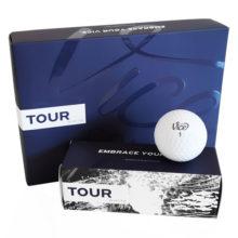 Vice TOUR Golfbälle Weiß Ansicht 12er Box