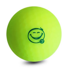 Vision Pro Soft UV Yellow™ Matt Golfbälle Gelb Frontansicht