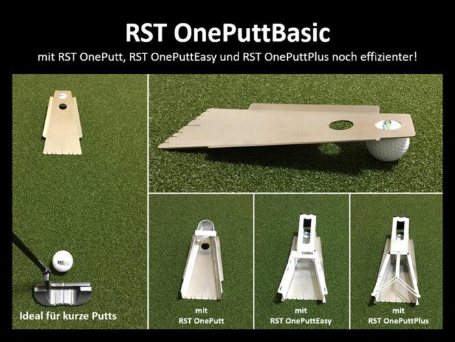 RST OnePuttBasic Putting Trainingshilfe mit OnePutt + OnePuttEasy-breit