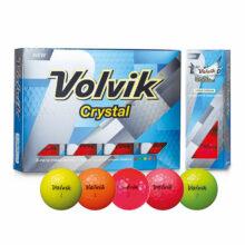 Volvik Crystal Golfbälle Bunt alle Farben 12er Box