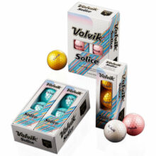Volvik Solice Golfbälle Metallic Cover 6er Box Titelbild frei