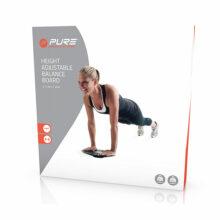 P2I Balance Board Gleichgewichtstraining höhenverstellbar Verpackung